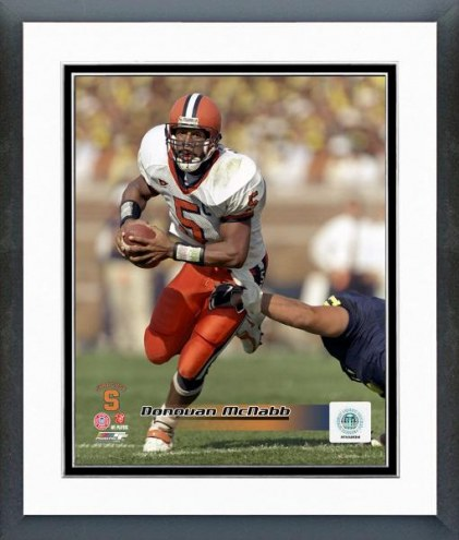 Syracuse Orange Donovan McNabb Action Framed Photo