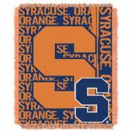 Syracuse Orange Double Play Woven Throw Blanket