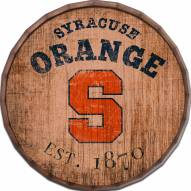 """Syracuse Orange Established Date 16"""" Barrel Top"""