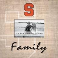 Syracuse Orange Family Picture Frame