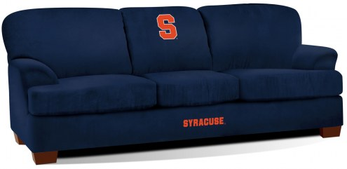Syracuse Orange First Team Microfiber Sofa