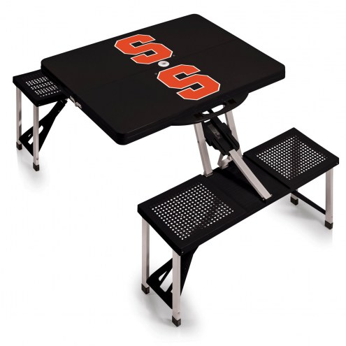 Syracuse Orange Folding Picnic Table