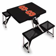 Syracuse Orange Folding Picnic Table