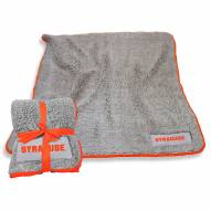 Syracuse Orange Frosty Fleece Blanket