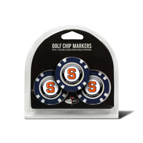 Syracuse Orange Golf Chip Ball Markers