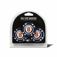 Syracuse Orange Golf Chip Ball Markers