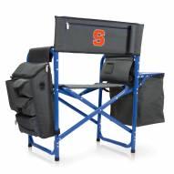 Syracuse Orange Gray/Blue Fusion Folding Chair