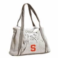Syracuse Orange Gray Hoodie Purse