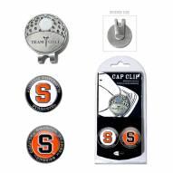 Syracuse Orange Hat Clip & Marker Set