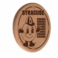 Syracuse Orange Laser Engraved Wood Sign