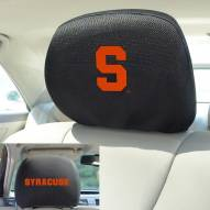 Syracuse Orange Headrest Covers