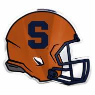 Syracuse Orange Helmet Car Emblem