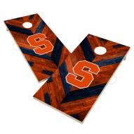 Syracuse Orange Herringbone Cornhole Game Set
