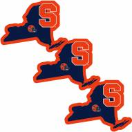 Syracuse Orange Home State Decal - 3 Pack