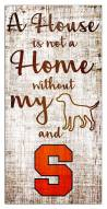 Syracuse Orange House is Not a Home Sign