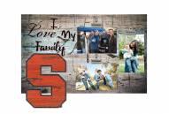 Syracuse Orange I Love My Family Clip Frame