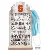 Syracuse Orange In This House Mask Holder