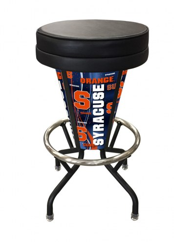 Syracuse Orange Indoor Lighted Bar Stool