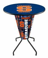 Syracuse Orange Indoor Lighted Pub Table