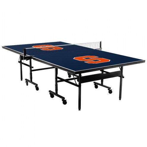 Syracuse Orange Indoor Ping Pong Table