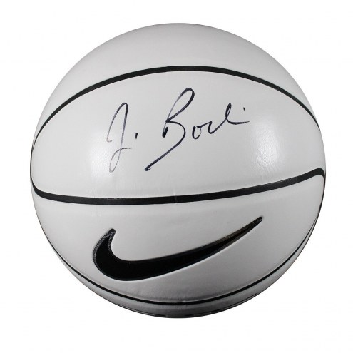 Syracuse Orange Jim Boeheim Signed Nike Elite White Panel Regulation Autograph Basketball