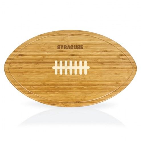 Syracuse Orange Kickoff Cutting Board