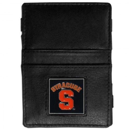 Syracuse Orange Leather Jacob's Ladder Wallet