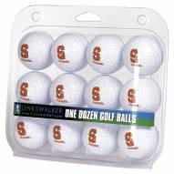 Syracuse Orange Dozen Golf Balls