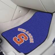 Syracuse Orange Logo 2-Piece Carpet Car Mats