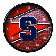 Syracuse Orange Football Clock