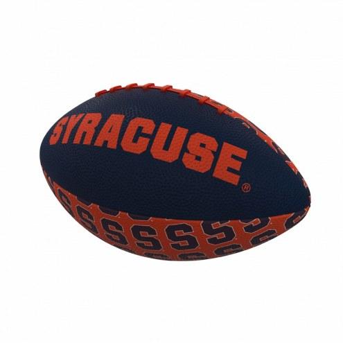 Syracuse Orange Mini Rubber Football