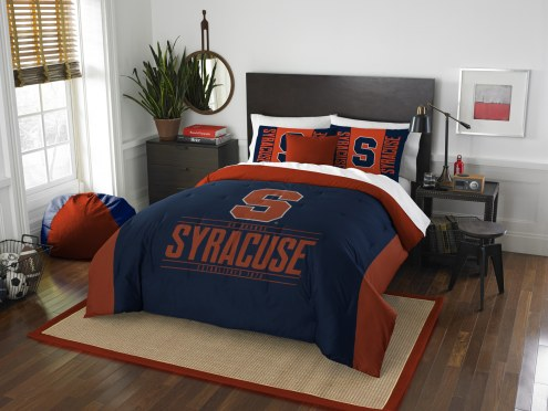 Syracuse Orange Modern Take Full/Queen Comforter Set