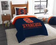 Syracuse Orange Modern Take Twin Comforter Set