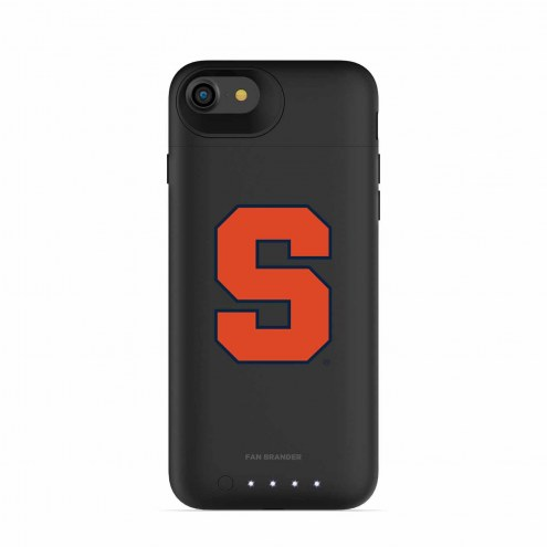 Syracuse Orange mophie iPhone 8/7 Juice Pack Air Black Case