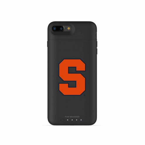 Syracuse Orange mophie iPhone 8 Plus/7 Plus Juice Pack Air Black Case
