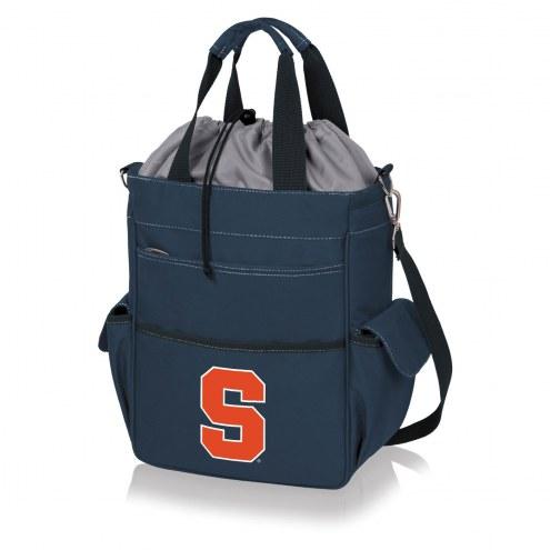 Syracuse Orange Navy Activo Cooler Tote