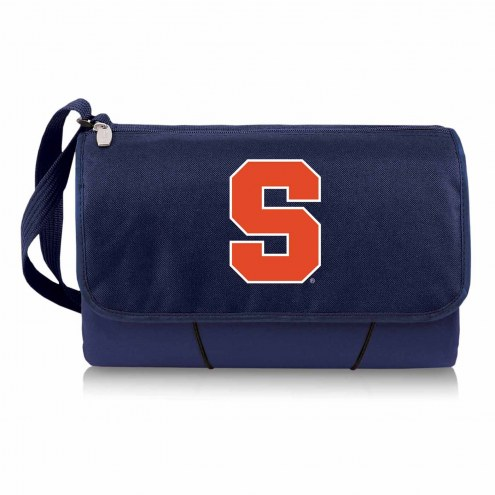 Syracuse Orange Navy Blanket Tote
