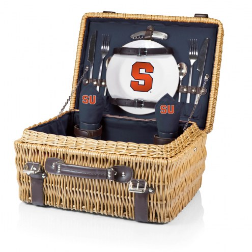 Syracuse Orange Navy Champion Picnic Basket