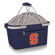 Syracuse Orange Navy Metro Picnic Basket