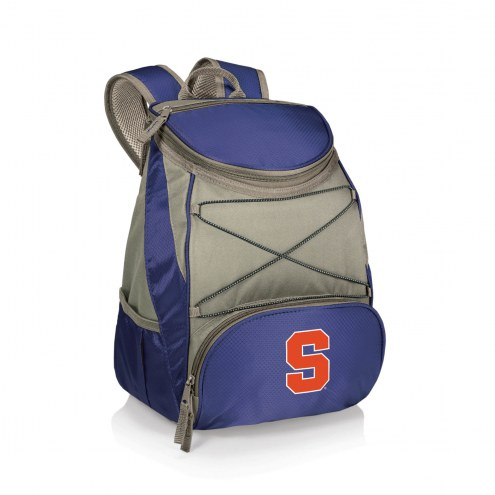 Syracuse Orange Navy PTX Backpack Cooler