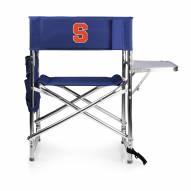 Syracuse Orange Navy Sports Folding Chair