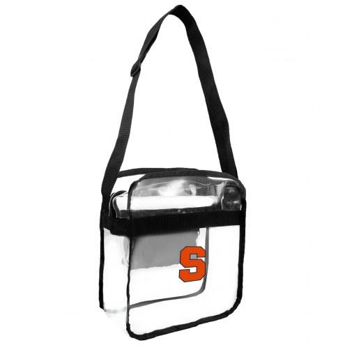 Syracuse Orange NCAA Clear Crossbody Carry-All Bag