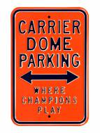 Syracuse Orange NCAA Embossed Parking Sign