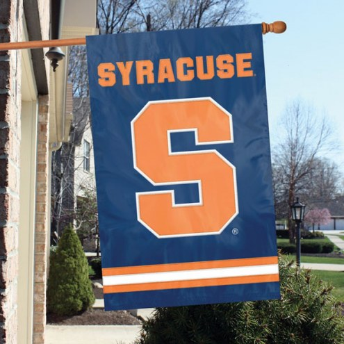 Syracuse Orange NCAA Embroidered / Applique College Flag Banner