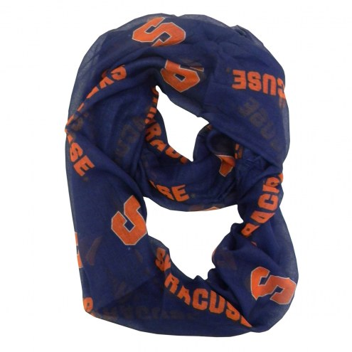 Syracuse Orange NCAA Sheer Infinity Scarf