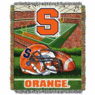 Syracuse Orange NCAA Woven Tapestry Throw / Blanket