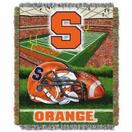Syracuse Orange NCAA Woven Tapestry Throw / Blanket