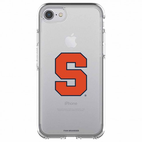 Syracuse Orange OtterBox iPhone 8/7 Symmetry Clear Case