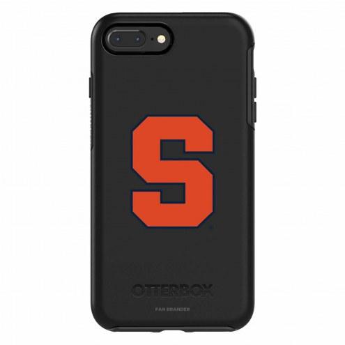 Syracuse Orange OtterBox iPhone 8 Plus/7 Plus Symmetry Black Case