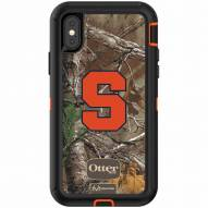 Syracuse Orange OtterBox iPhone X Defender Realtree Camo Case